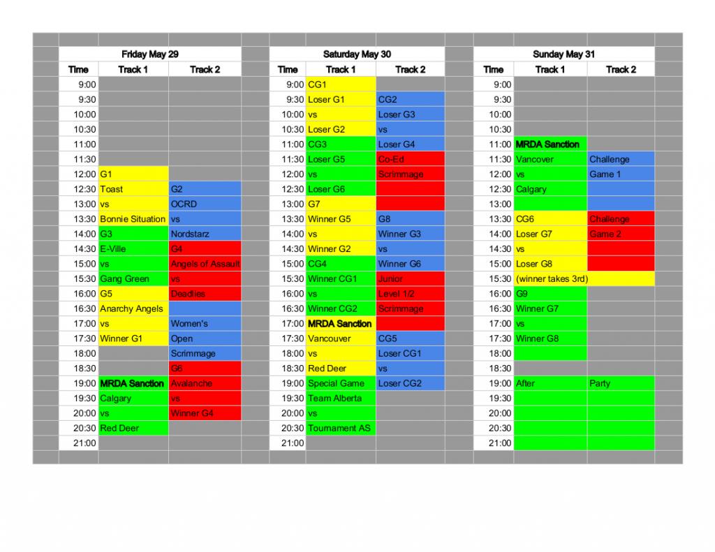 Flat Track Fever 2015 Schedule